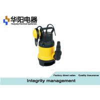China Submersible Vortex Sewage Pump , Electrical Submersible Pump For Sewage Application wholesale