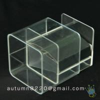 China BO (13) acrylic donation box wholesale