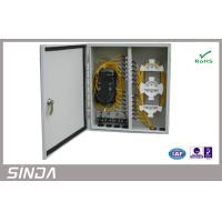 Buy cheap 24 Cores Wall Mount  Fiber Optic Patch Panel , odf fiber optic terminal box FC SC ST LC from wholesalers