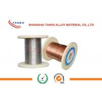 Quality Dia 0.005mm 0.045mm CuNi2 Alloy Wire , Copper Nickel Rod / Bar for Heated Car for sale