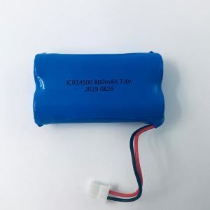 China LG Chem Lithium 7.4V 800mAh 18650 Lithium Ion Battery Pack wholesale