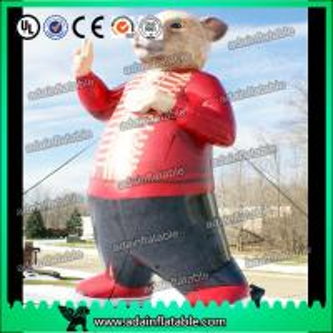 China Car Advertising Inflatable Rat Cartoon Bear Animal Model wholesale