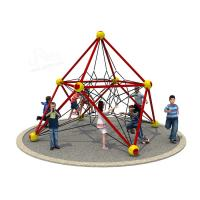 China Customized Color Kids Outdoor Playset Small Outdoor Climbing Frame EN1176 Approved on sale