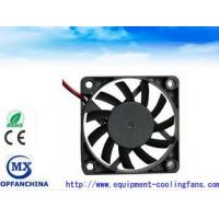 China Ball / Sleeve Bearing Dc Ventilation Fan , Plastic Impeller Quiet Computer Fans For PC wholesale