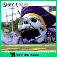 China Giant Event Entrance Tunnel Inflatable Skeleton Skull Replica wholesale