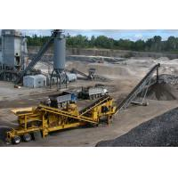 China Mobile stone crusher for sale with low price on sale