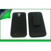 China Black Clip Holster Kickstand Phone Case , Samsung Galaxy S4 I9500 Cases on sale