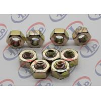 China High Precision Machining Small Metal Parts , Hexagonal Zinc Plated Iron Nuts wholesale