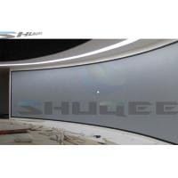 China Customized 3D Cinema System, Large Arc Theater Screen For Exhibition, Popular Science wholesale