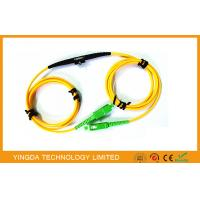 China Adjustable SC FC LC MU Fixed In - line Fiber Optic Attenuator SM 1Meter Range 1 ~ 40dB on sale
