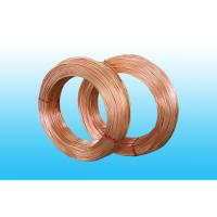 China Copper Coated Bundy Tube 6mm X 0.65 mm , GB/T 24187-2009 Standard wholesale