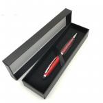 China Matt Black Cardboard Personalised Stationery Gifts Pen Packing Box 177x48x22mm wholesale