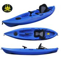 China Blue / Yellow Plastic Fishing Kayaks And Boat With Single And Double Seats wholesale