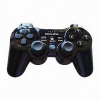 China Wireless PC Game Pad with 27 Hours Operating Time wholesale