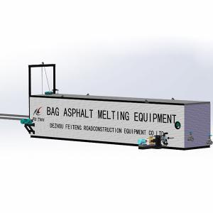 China Melting 8 Tons Per Hour Self Heating Cuboid Shape Drum Bitumen Melter wholesale