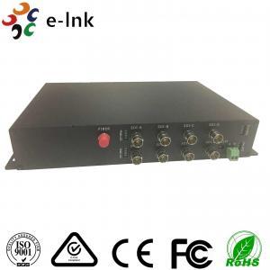 China 1 Channel RS485 Reverse Data 20km Single Mode 8 Channel SDI to Fiber Optic Converter wholesale