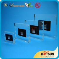 Quality clear acrylic picture photo frame photo frame 4x6,5x7 wholesale custom acrylic for sale