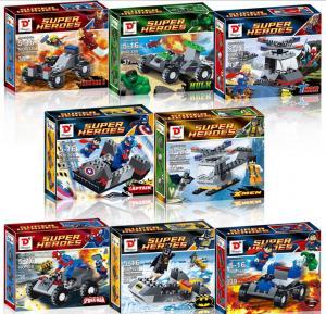 China Plastic building blocks toys ,Captain American building blocks wholesale