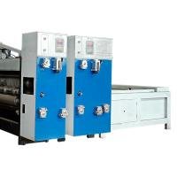 China 2 Color 3 Color Corrugated Box Printing Machine Flexo Printer Slotter Machine wholesale