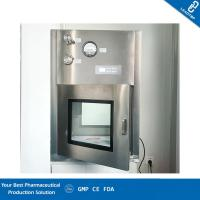 China GMP Cleanroom Static Dynamic Pass Box / Pharmaceutical Pass Box Low Noise wholesale
