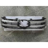 Chrome Plastic Toyota Hilux Revo Parts / Front Grille Normal Size With Logo