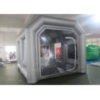 China Custom Small Portable Mobile Inflatable Spray Booth For Car Maintaining wholesale