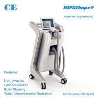 China Fast fat removal 250KHZ high intensity ultrasound HIFU slimming machine with CE approval on sale