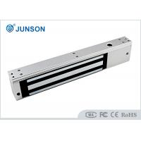 China Anodized Aluminum Single Door Magnetic Lock 600lbs JS-280TS With Door Sensor / Timer wholesale