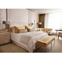 China European Style 5 Star Hotel Bedroom Furniture Sets Eco -  Friendly Customized wholesale