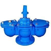 China Double Orifice Kinetic Air Valve DN80 Cast Iron PN16 Low Maintenance wholesale