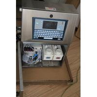 China Smart Expiry Date Continuous Inkjet Printer High Power 120 W Energy Saving wholesale
