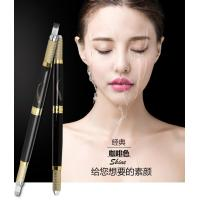 China Black Multifunctional Microblading Eyebrow Tattoo Pen Double Heads 30G OEM wholesale
