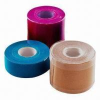 China Kinesio Tapes, Used by Sports Doctors for Muscle and Joint Pain wholesale