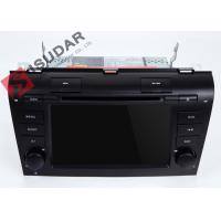 China Windows CE Gps Bluetooth  Touch Screen Car Head Unit For Mazda 3 Dvd Navigation System on sale
