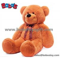 China Big Plush Brown Bear Doll Soft Toy as Chirdren Day Gift wholesale