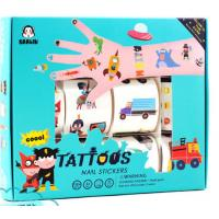 China Non - Toxin Eco Friendly Small Baby Playing Toys Temporary Tattoos For Kids wholesale