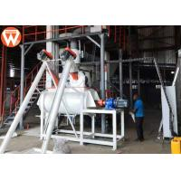 China 1.5 - 2.5 T/H Animal Farm Poultry Feed Plant Machinery 50kw High Efficiency wholesale