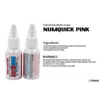 China Numquick Pink Tattoo Numb Cream / Water Based Tattoo Numbing Spray wholesale