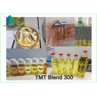 China Pre-made Oil TMT Blend 375 Injectable Anabolic Steroids Light yellow liquid for Muscle Gain wholesale