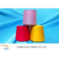China 100% Virgin Spun Dyed Polyester Yarn 40 / 2  AA Grade For Sewing Thread / Embroidery wholesale