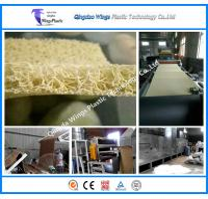 China PVC Cushion Coil Mat Machine Plant PVC Car Coil Mat Making Machinery Plant In China wholesale
