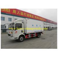 China Sinotruk Mini Commercial Truck Refrigerators 8 tons 4x2 for Togo -18 degrees wholesale