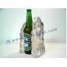 Quality Custom Made Resin Bar Bottle Display Holder Led Lighted Indoor Advertising for sale