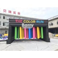 China Customized Inflatable Interactive Games With Obstacle Color Run / Inflatable Sports Games wholesale