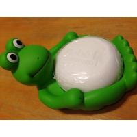 China Animal Design Bathroom Plastic Soap Dish , Duck / Frog Soap Dish Non Phthalate Vinyl wholesale