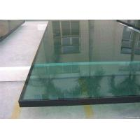 China Tempered Low E Glass Panels 4mm - 10mm Thickness For Hospital / School wholesale