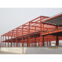 China Industrial Large Pre Engineered Steel Buildings With Galvanization And Painting Treatment wholesale
