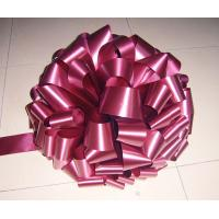"""Quality 15"""" large size wedding Pom Pom bow in thick PP or PET materials for decoration for sale"""
