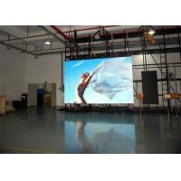 China HD Electronic RGB P3.91 Indoor Rental LED Display Black SMD2121 Back Stage Background wholesale