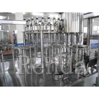 China High Speed Juice Bottling Equipment Automatic Capping Top Filling Machine wholesale